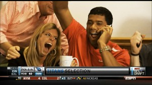 Russell Wilson Drafted