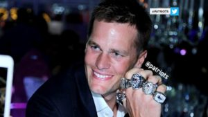 Brady 5 Super Bowl Rings