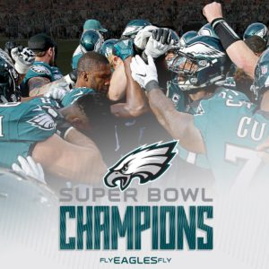 Eagles Repeat Super Bowl Champions