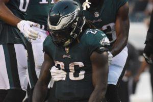 Jay Ajayi Eagles Injury