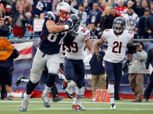 Patriots Bears NFL Wagering