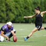 Carli Lloyd NFL Training Camp