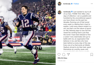 Read more about the article Tom Brady Return A No for Bob Kraft