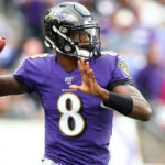 Lamar Jackson Frustrated