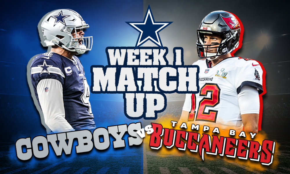 You are currently viewing Cowboys Vs Bucs NFL Week 1